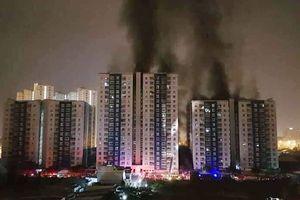 Toàn cảnh vụ cháy dữ dội ở chung cư Carina Plaza khiến 13 người chết