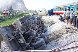 Tai nạn đường sắt kinh hoàng tại Thanh Hóa