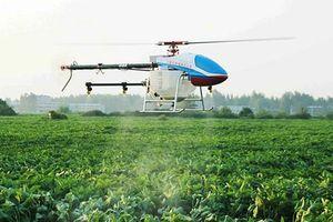 Máy bay điều khiển từ xa phun thuốc trừ sâu có phải là Nông nghiệp 4.0?