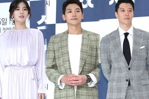 Họp báo 'Sketch': Lee Sun Bin mờ nhạt, 'bố một con' Bi Rain - Lee Dong Gun đẹp cuốn hút đốn tim fan