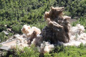 Nỗ lực một phía: Triều Tiên phá hủy bãi thử hạt nhân Punggye-ri
