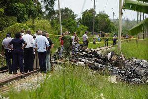 Cuba thu hồi hộp đen trong thảm kịch rơi máy bay làm 111 người chết