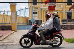 Trộm vào công an phường lấy xe tuần tra