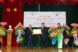 Trường ĐH Cửu Long đạt chuẩn kiểm định chất lượng giáo dục