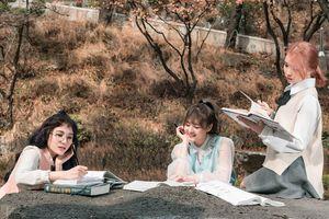LIME lần đầu đóng phim cùng 'nam thần học đường' Trường Đặng