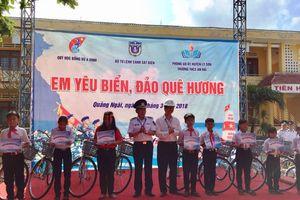 Học sinh Lý Sơn hào hứng với cuộc thi 'Em yêu biển, đảo quê hương'