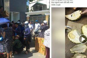 Giải cứu container sầu riêng tại Hà Nội: Người mua nhận 'quả đắng'
