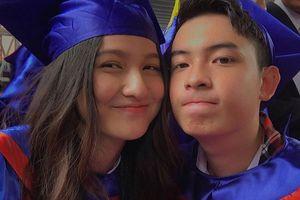 Hot girl Mai Tây khoe ảnh tốt nghiệp xinh xắn bên bạn bè