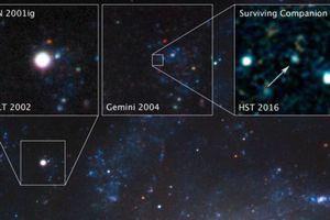 Ấn tượng cảnh sao đôi tồn tại sau vụ nổ siêu tân tinh