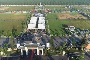 Công viên nghĩa trang 500 tỷ đồng Vĩnh Hằng Long Thành đi vào hoạt động