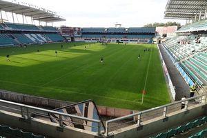Sân tranh Siêu cup châu Âu chỉ chứa 15.000 khán giả