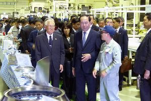 Chủ tịch nước Trần Đại Quang gặp gỡ các kỹ sư Việt Nam làm việc ở Gunma, Nhật Bản
