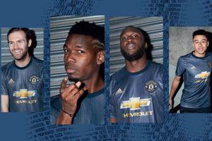 Man Utd, Real và những mẫu áo đấu đẹp vừa ra mắt tại châu Âu