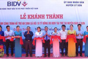 Đảo Lý Sơn có thêm 2 trường học