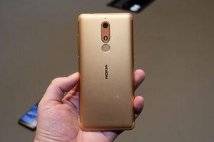 Cận cảnh Nokia 5.1 vừa trình làng: Vỏ nhôm nguyên khối, màn hình FullView, giá 5 triệu