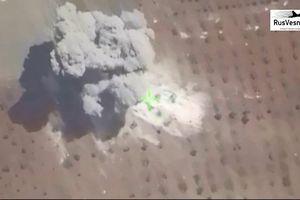 Nga yểm trợ Syria tập kích hủy diệt trận địa pháo thánh chiến