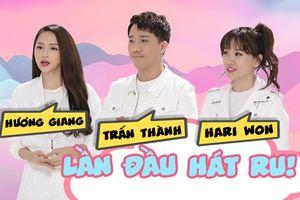 Chỉ có tại 'Manbirth 2018': Trấn Thành - Hari Won - Hương Giang lần đầu hát ru không thể ngọt hơn
