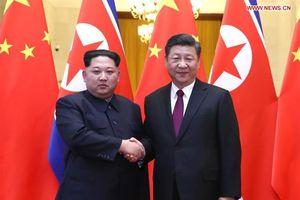 Chùm ảnh đầu tiên về cuộc hội đàm giữa hai nhà lãnh đạo Tập Cận Bình - Kim Jong Un