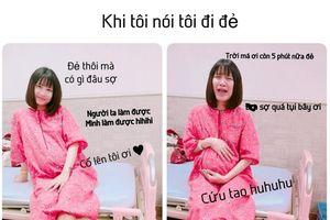 Hot vlogger Thanh Trần chia sẻ hành trình đi đẻ: 'Đẻ rồi vẫn chưa hết điên'