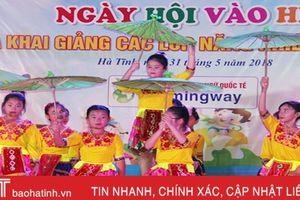 Sôi động ngày hội vào hè của thiếu nhi thành phố Hà Tĩnh