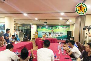 Hạng nhất Nghệ League 2018: Cuộc tranh tài của những đội bóng Xứ Nghệ