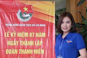 Nữ Bí thư Đoàn của Hà Nội vinh dự nhận giải thưởng Lý Tự Trọng 2018