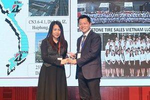 Bridgestone Việt Nam đạt danh hiệu nhà cung cấp chất lượng của năm