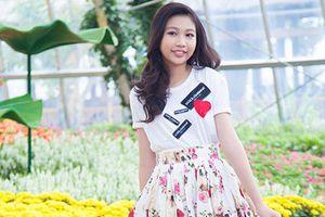 Hoa hậu Hoàn vũ nhí 13 tuổi cao 1m72 khoe nhan sắc xinh tươi