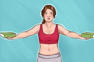 10 bài tập để có bộ ngực săn chắc, cánh tay thon gọn