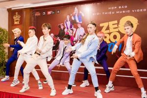 Dàn sao Việt chúc mừng nhóm nhạc Zero 9 ra mắt sản phẩm đầu tay