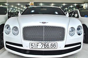 Siêu xe sang Bentley tiền tỷ biển 'tứ quý 6' tại Sài Gòn