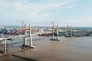 'Trảm' nhà thầu chậm tiến độ tại dự án cầu Bạch Đằng, đường dẫn và nút giao cuối tuyến