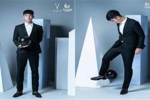 Hot boy U23 VN làm người mẫu khiến chị em mê mệt