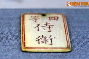 Độc đáo 'thẻ nhân viên' trong hoàng cung nhà Nguyễn