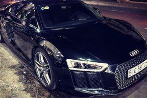 Siêu xe Audi R8 của đại gia Trung Nguyên 'làm dâu' Bạc Liêu