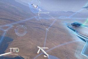 Mỹ phát triển UAV 'tí hon' đối phó J-20 Trung Quốc