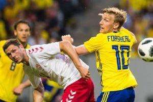 Giao hữu tiền World Cup 2018: Thụy Điển cầm chân Đan Mạch không bàn thắng