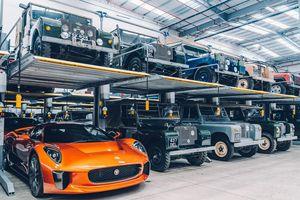 Một vòng trung tâm xe cổ lớn nhất của Jaguar Land Rover