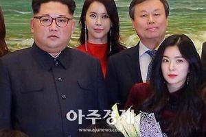 'Nữ thần nhan sắc' Kpop Irene gây chú ý khi chụp ảnh cùng ông Kim Jong-un