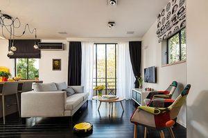 Căn hộ 46 m2 ngập tràn sắc màu hiện đại