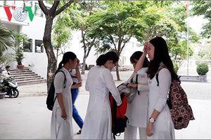 Thi tuyển vào lớp 10 tại Đà Nẵng: Đề thi Toán tương đối khó