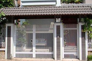10 mẫu cổng sắt đẹp dành cho nhà phố