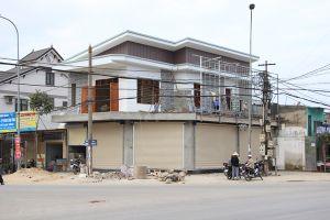 Thị xã Thái Hòa (Nghệ An): Ngang nhiên công trình xây lấn chiếm, sai phép