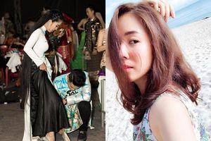 Phản ứng sốc của Trung Kiên khi Lê Phương bất ngờ 'xuống tóc' sau 15 năm nuôi dưỡng