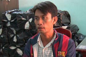 Kiên Giang: Bắt đối đượng vận chuyển 18.000 bao thuốc lá lậu