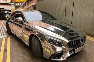Mercedes-AMG S63 Coupe mạ crom siêu 'độc'
