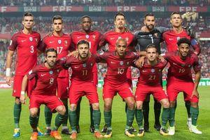 Danh sách, số áo đội tuyển Bồ Đào Nha dự World Cup 2018