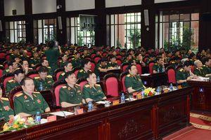 Cục Chính trị, Bộ Tổng tham mưu đón nhận Huân chương Bảo vệ Tổ quốc hạng Nhì