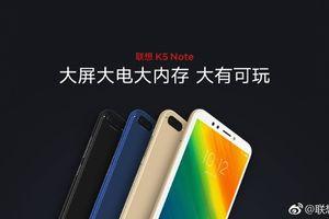 Lenovo ra mắt bộ đôi K5 Note 2018 và A5 tầm trung giá rẻ