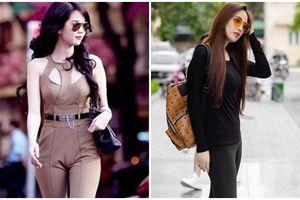 Chẳng riêng gì Mai Phương Thúy, Song Trinh cũng mắc lỗi lộ điểm nhạy cảm khi mặc quần legging